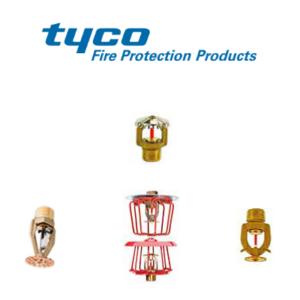 Tyco Sprinklers Storage - AFT Fire Supplies